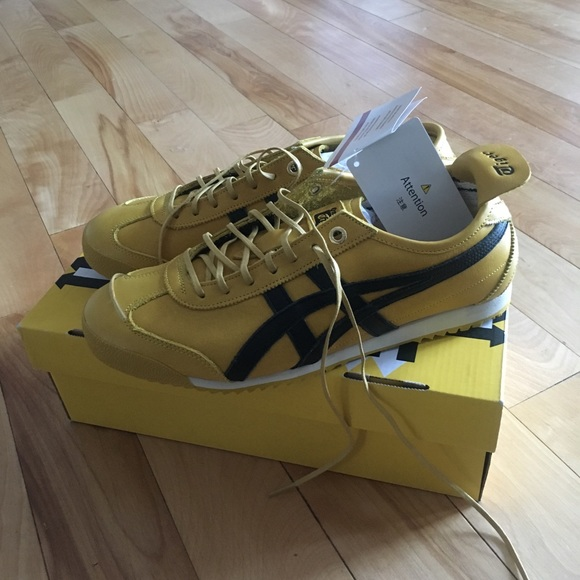 new styles be2bb 53620 Onitsuka Tiger Tai-Chi Yellow/Black Sneakers NWT